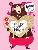 Rachel Ellen - Thank You Beary Much - cards 5pk